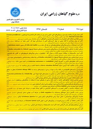 علوم گیاهان زراعی ایران